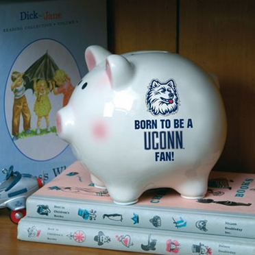 Connecticut (Born to Be) Piggy Bank