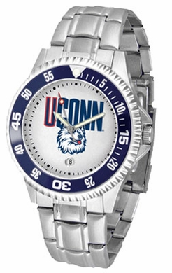 Connecticut Competitor Men's Steel Band Watch