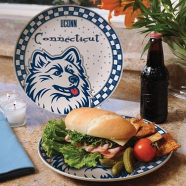 Connecticut Gameday Ceramic Plate