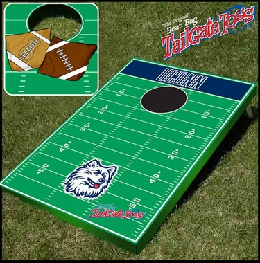 Connecticut Tailgate Toss Cornhole Beanbag Game