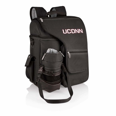 Connecticut Turismo Embroidered Backpack (Black)