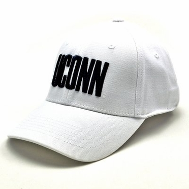 Connecticut White Premium FlexFit Hat