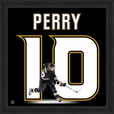 "Corey Perry, Ducks UNIFRAME 20"" x 20"""