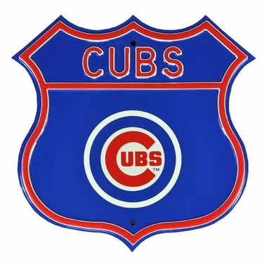 "Cubs ""Cubs"" Logo Street Sign"