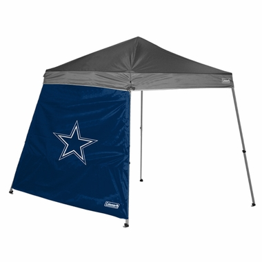 Dallas Cowboys 10 x 10 Slant Leg Shelter Panel