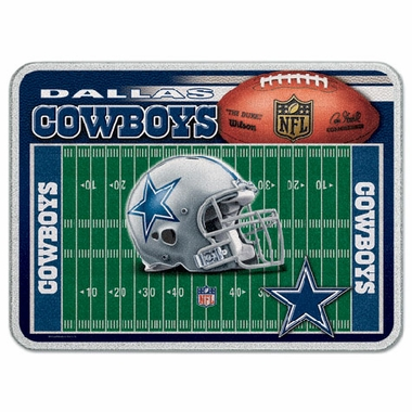 Dallas Cowboys 11 x 15 Glass Cutting Board