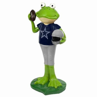 Dallas Cowboys 12 Inch Frog Player Figurine