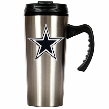Dallas Cowboys 16 oz. Thermo Travel Tumbler (Slim)