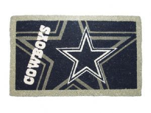 Dallas Cowboys 18x30 Bleached Welcome Mat