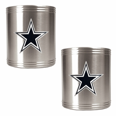 Dallas Cowboys 2 Can Holder Set