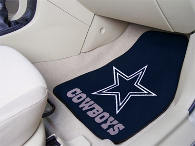 Dallas Cowboys 2 Piece Car Mats