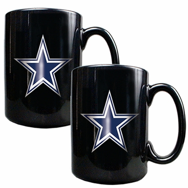 Dallas Cowboys 2 Piece Coffee Mug Set