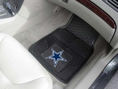 Dallas Cowboys 2 Piece Heavy Duty Vinyl Car Mats