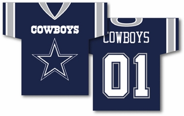 Dallas Cowboys 2 Sided Jersey Banner Flag (F)