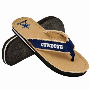 Dallas Cowboys 2013 Retro Contoured Flip Flop Sandals