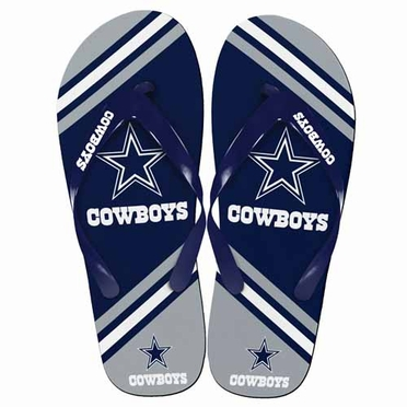 Dallas Cowboys 2013 Unisex Big Logo Flip Flops