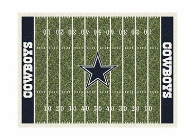 "Dallas Cowboys 3'10"" x 5'4"" Premium Field Rug"