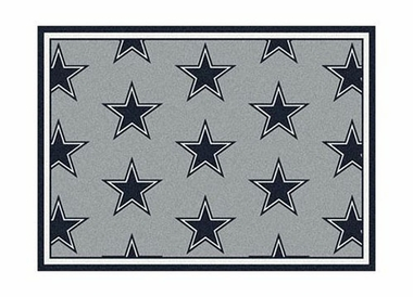 "Dallas Cowboys 3'10"" x 5'4"" Premium Pattern Rug"