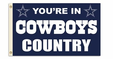 Dallas Cowboys 3' x 5' Flag (Country) (F)