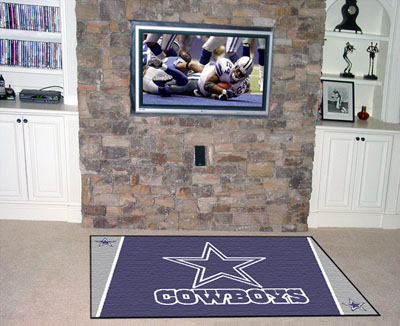 Dallas Cowboys 4 Foot x 6 Foot Rug