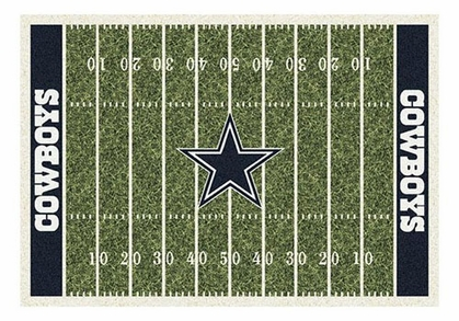 "Dallas Cowboys 5'4"" x 7'8"" Premium Field Rug"