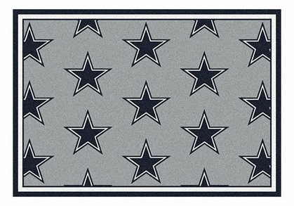 "Dallas Cowboys 5'4"" x 7'8"" Premium Pattern Rug"