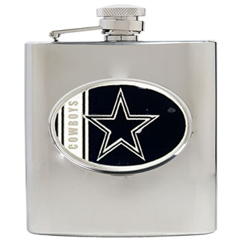 Dallas Cowboys 6 oz. Hip Flask
