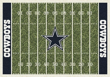 "Dallas Cowboys 7'8"" x 10'9"" Premium Field Rug"