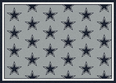 "Dallas Cowboys 7'8 x 10'9"" Premium Pattern Rug"