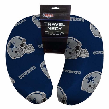 Dallas Cowboys Beaded Neck Pillow