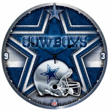 Dallas Cowboys Big 18 Inch Hi Definition Clock