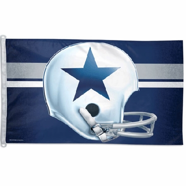 Dallas Cowboys Big 3x5 Flag (Throwback)