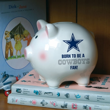 Dallas Cowboys (Born to Be) Piggy Bank