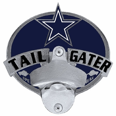 Dallas Cowboys Bottle Opener Hitch Cover