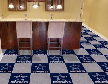 Dallas Cowboys Carpet Tiles
