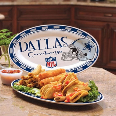 Dallas Cowboys Ceramic Platter