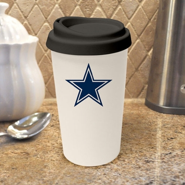 Dallas Cowboys Ceramic Travel Cup