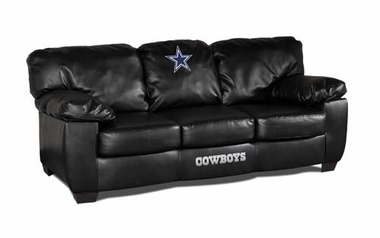 Dallas Cowboys Leather Classic Sofa