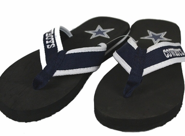 Dallas Cowboys Contoured Flip Flop Sandals