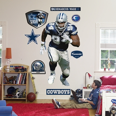 Dallas Cowboys DeMarcus Ware Fathead Wall Graphic
