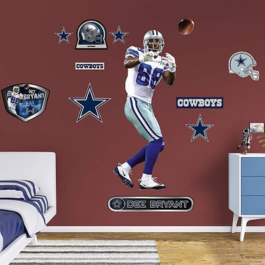 Dallas Cowboys Dez Bryant � Fathead Wall Graphic