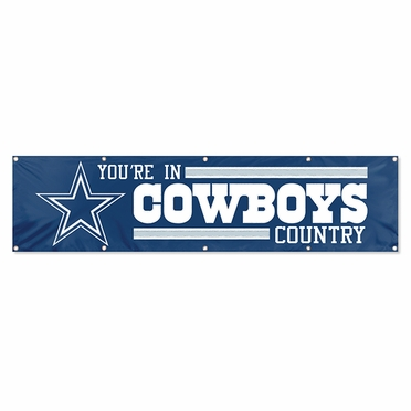Dallas Cowboys Eight Foot Banner