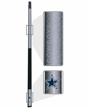 Dallas Cowboys Eliminator Pool Cue