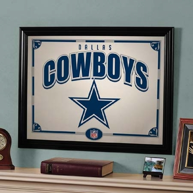 Dallas Cowboys Framed Mirror