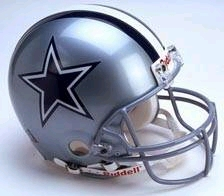 Dallas Cowboys Full Sized Replica Helmet