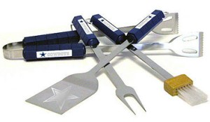 Dallas Cowboys Grill BBQ Utensil Set