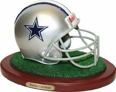 Dallas Cowboys Helmet Figurine
