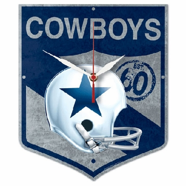 Dallas Cowboys High Definition Wall Clock (Vintage)