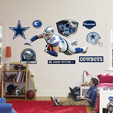 Dallas Cowboys Jason Witten Fathead Wall Graphic