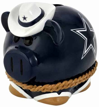 Dallas Cowboys Large Thematic Piggy Bank